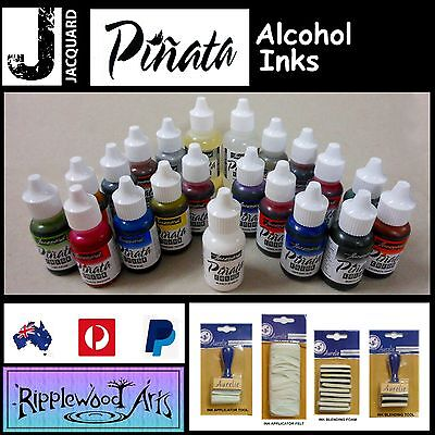 Jacquard PINATA - ULTIMATE 21 Bottle Alcohol Ink Collection + Tools
