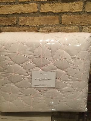 New Restoration Hardware Baby And Child Pinwheel Quilt Size Full/queen Pink