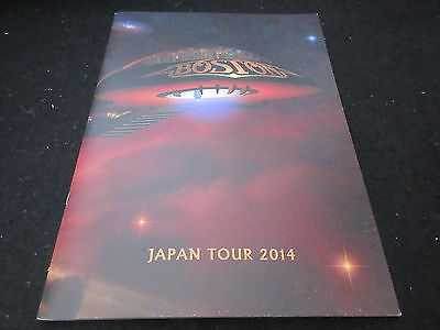 Boston 2014 Japan Tour Book Tom Scholz Concert Program