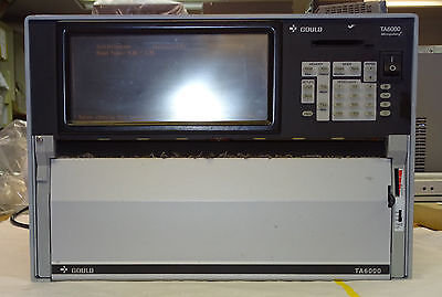 Gould TA6000 Micropulsing Thermal Array Chart Recorder