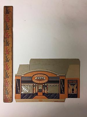 Rare Nyal Drug Store City 7  Buildings Vintage Advertising Great Set Antique