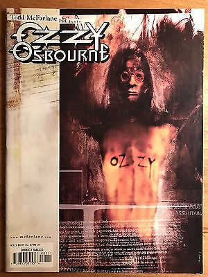 Todd Mcfarlane Ozzy Osbourne 1999 Series Number One Excellent Condition