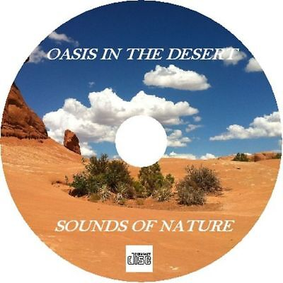 Natural Sounds Oasis In The Desert New Age Sleep Relaxation Nature Audio CD