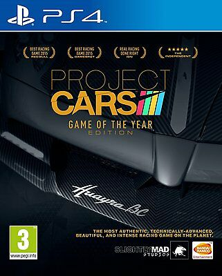 Project CARS - Game of the Year Edition (PS4) BRAND NEW SEALED