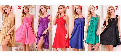 Floral Laces Lingerie Nightgown Nightdress Camisole Sleepwear Babydoll Pajamas