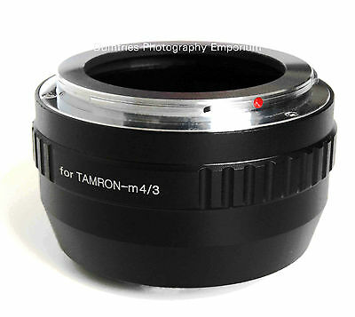 Premium Quality Tamron Adaptall Lens to M4/3 Mount Adapter - Fits all Micro Four