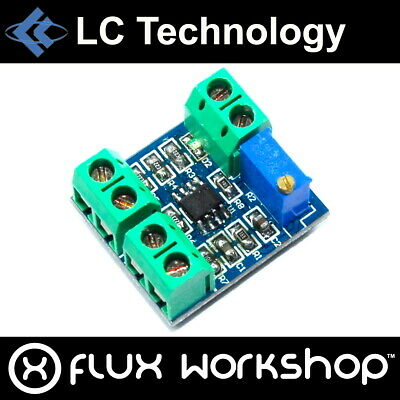 LC Technology LM358 Voltage to Current Convertor 5V 20mA Flux Workshop