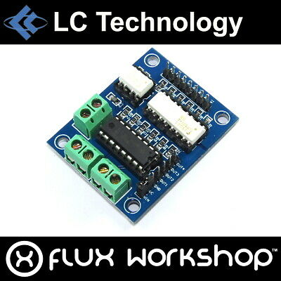 LC Technology L293D Dual H-Bridge Module 1A Opto-coupled Arduino Flux Workshop