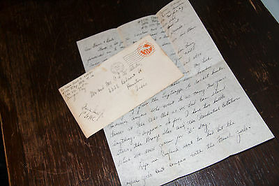 WW2 US ARMY D-DAY Normandy Invasion GI Letter 437th Operations Troop Carrier Grp