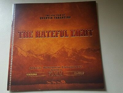 Hateful Eight Quentin Tarantino 70mm Special Edition Collectors Movie Programme