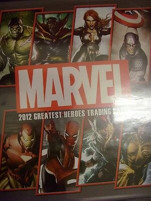Marvel Greatest Heroes 2012 Trading Card Binder W/ Promo P3 Rittenhouse Comic