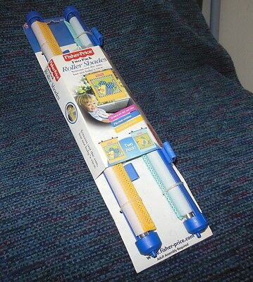 Fisher Price 2 Pack Auto Vehicle Window Roller Shades Baby Child Toddler NEW