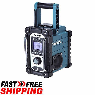Makita 18V Li-Ion Job Site Fm/dab Ipod Mp3 Digital Jobsite Radio Stereo - Dmr105