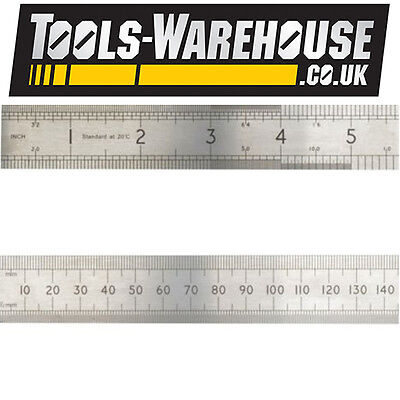 Advent Asr 1000 Precision Stainless Steel Rule 1000Mm (1M) - Metric & Imperial