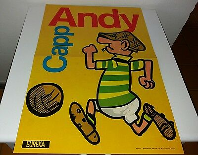 Andy Capp - Poster - Supplemento Allegato Ad Eureka N. 6 - Ottimo +
