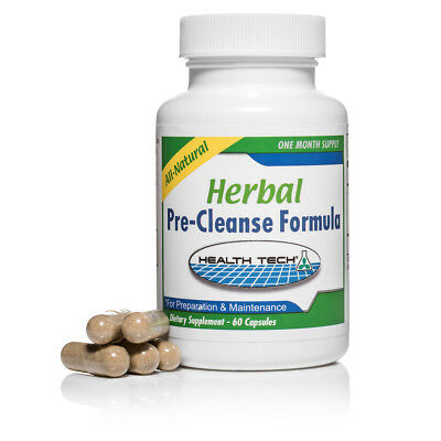 Herbal Pre-Cleanse Formula - Natural detox solution by Health Tech