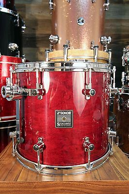 Sonor S Class Maple 14 X 12 Tom Red Maple