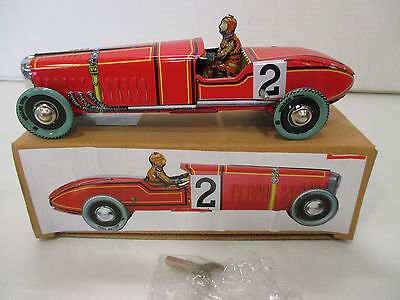 Clayre & Eef 6BL0056  Blechauto Race Car red  B4873