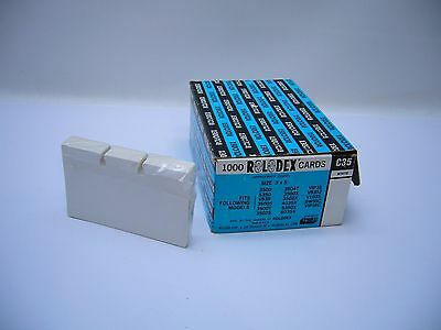 New Sealed Rolodex 100 Pack 3X5 cards Refill C-35 White business files