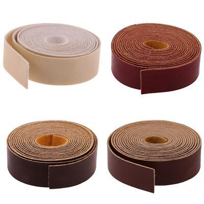10 Meters x 2cm Leather Strap Strips for Leather Crafts Belt Bag Handle DIY