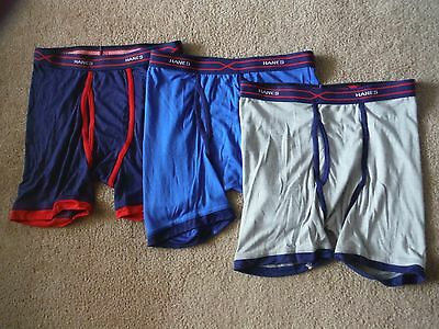 3 pair Hanes XL 18-20 Boy,s boxer briefs, New without package