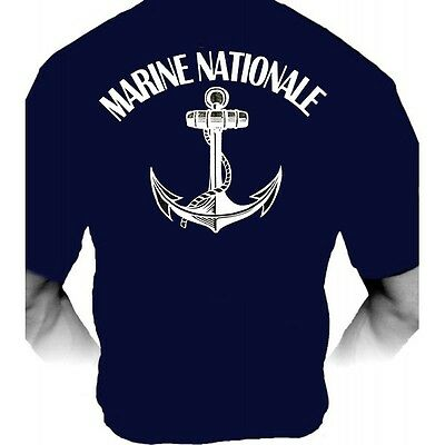 Tee-Shirt / T-Shirt - Marine Nationale