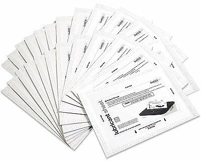 Shredder Lubricant Sheets - 24 Sheets Per Pack