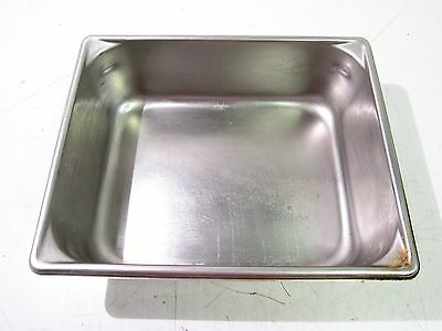 """13"""" X 10-1/2"""" X 4"""" Stainless Steel Steam Table Baking Pan Half Size *xlnt*"""
