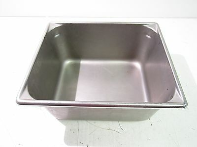 """13"""" X 10-1/2"""" X 6"""" Stainless Steel Steam Table Baking Pan Half Size *xlnt*"""