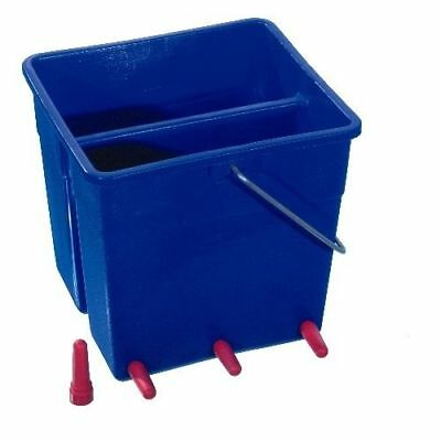 12L Ritchey Lamb Milk Feeder Bucket | 4 Teat or 6 Teat | Includes Valves + Teats