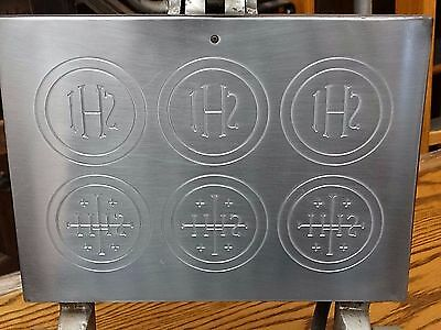 commercial Catholic host Eucharist Christ baking mould machine maker for Mass #1