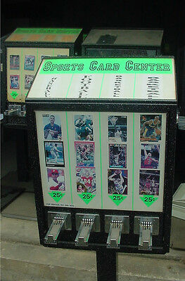 Sports Card Vending Machines U-Seal-It Football Basketball cards