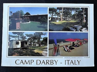 Camp Darby Italy Postcard