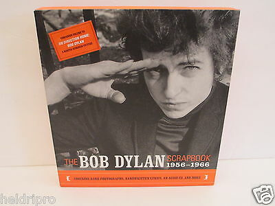 "Rare New  2005 ""the Bob Dylan Scrapebook 1956 - 1966"" Picture Photo Book  Plus-"