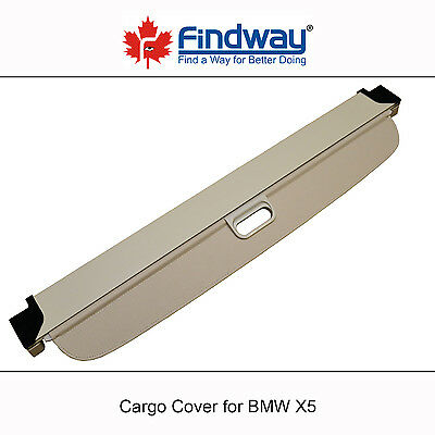 Beige Cargo Cover Anti-Theft Shield For 2007,2008,2009,2010,2011-2013 BMW X5