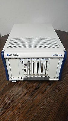 National Instruments Ni PXI 1042 + 8145 embeded controller + motion control X2