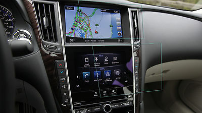 Crystal Clear Screen Protector for 2016 Infiniti Q50 Navigation
