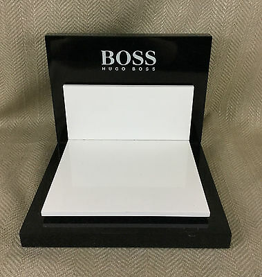 Genuine Hugo Boss Display Stand Retail Shop Advertising Sign POS Advert Branded