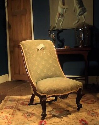 Victorian Antique Bedroom / Nursing / Occasional Chair