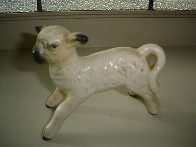 ANTIQUE VINTAGE SylvaC CHINA CERAMIC PORCELAIN SHEEP LAMB ORNAMENT FIGURINE