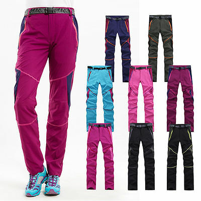 Fashion Women's Outdoor Climbing Hiking Quick-dry Breathable Waterproof Pants