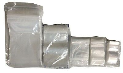"""500 SMALL 2.25"""" x 3"""" CLEAR GRIP SEAL GRIPSEAL PLASTIC RESEALABLE BAGS FREE POST"""
