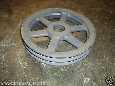 "Browning 2BK100H Two Groove Pulley 9-3/4"" Dia. for Taper Lock Style Bushing"