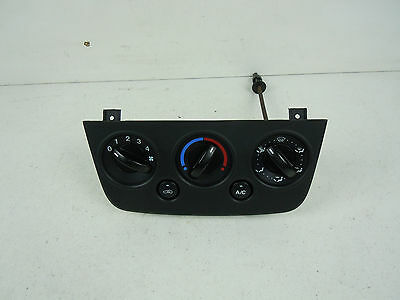2006 Ford Fiesta Mk6 A/c Heater Control Panel 2S6H-19980Be