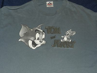 Vintage Tom and Jerry T Shirt ( men's BIG XL)