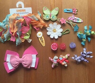 Vintage Gymboree Hair Accessories Lot EUC/NWT Spring/Easter 14PC
