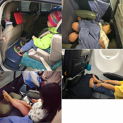 children cars airplane Inflatable Travel FootRest Parallel seat sleep Pillow