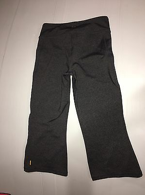 c1daf463988b6 LUCY POWER MAX GRAY PURPLE YOGA WORKOUT SKINNY CAPRI PANTS Size XS ...