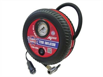 Faithfull FAIAUTYINFLO Low Volume Tyre Inflator 12V