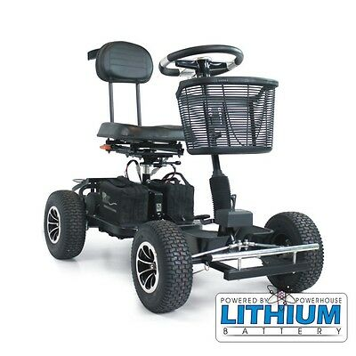 Powerhouse Pro-S Lithium Single Seater Electric Golf Buggy